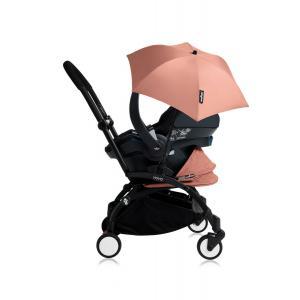 Babyzen - Bu162 - Poussette YOYO+ tout-en-un (cadre noir) pack naissance Ginger siège-auto Izigo Modular noir et ombrelle (406712)