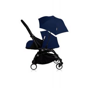 Histoire d'ours - Bu203 - Poussette YOYO+ 0+ (cadre noir) Beu Air France et son ombrelle (406794)