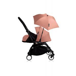 Babyzen - Bu207 - Poussette YOYO+ 0+ (cadre noir) Ginger et son ombrelle (406802)