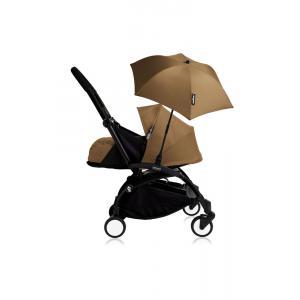 Babyzen - Bu210 - Poussette YOYO+ 0+ (cadre noir) Toffee et son ombrelle (406808)