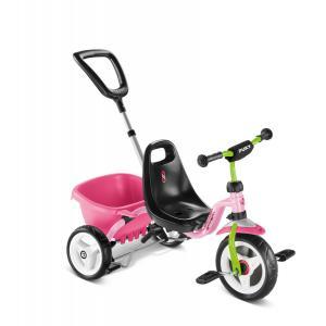 Puky - 2215 - Tricycle avec benne - rose/kiwi - modèle CAT 1 S (406834)