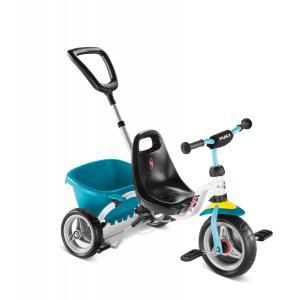 Puky - 2217 - Tricycle avec benne - blanc/menthe - modèle CAT 1 S (406838)
