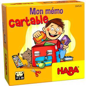 Haba - 304528 - Mon mémo cartable (407208)