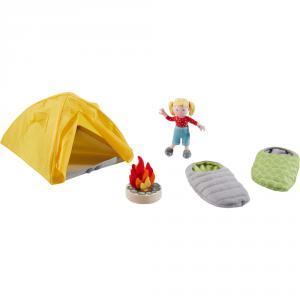 Haba - 304749 - Little Friends – Tente et accessoires de camping (407454)
