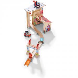 Haba - 304847 - Kullerbü – Circuit de jeu Caserne de pompiers (407534)