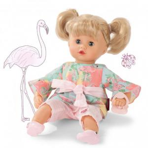 Gotz - 1920932 - Muffin, Flamingo love, cheveux blonds (408388)