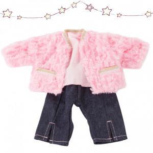 Gotz - 3403020 - Ensemble bébé, Furry Pink pour bébés de 30-33cm (408398)