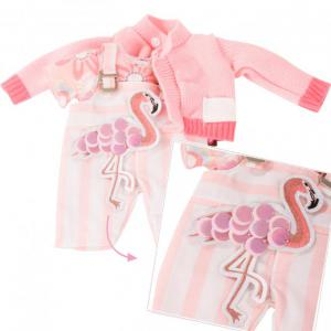 Gotz - 3403022 - Ensemble bébé, Pretty Flamingo (408402)