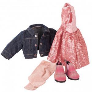 Gotz - 3403030 - Ensemble Glitter Glamour pour poupées de 45-50cm (408416)