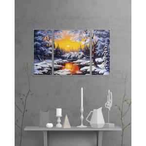 Schipper - 609260786 - Peinture aux numeros - A winter dream - Taille 50 x 80 cm (408538)