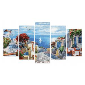 Schipper - 609450797 - Peinture aux numeros - Mykonos - Taille 132 x 72 cm (408544)