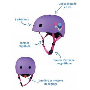 Micro - AC2085 - Casque enfant pour trottinette & vélo (408578)