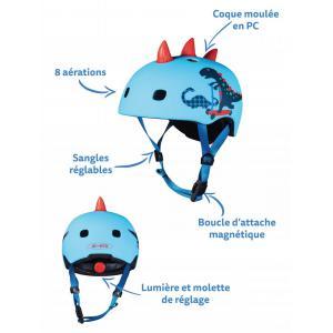 Micro - AC2094BX - Casque enfantpour trottinette & vélo (408596)