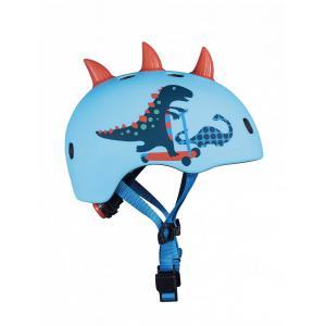 Micro - AC2095BX - Casque Dinosaure 3D - Nouvelle gamme -  boucle magnétique / lumière LED intégrée - Taille M = 52 à 56cm (408598)