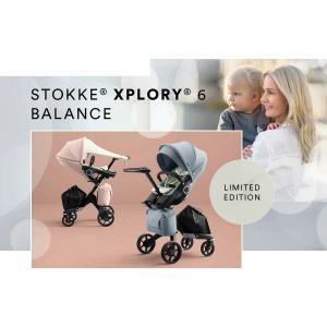 Stokke - 543801 - Poussette Xplory V6 Balance rose (408642)