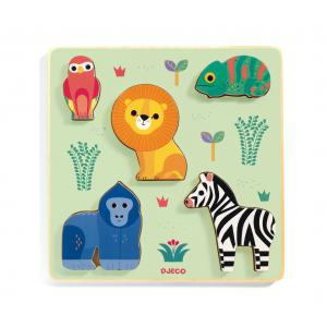 Djeco - DJ01058 - Puzzles relief -  Emilion (408696)