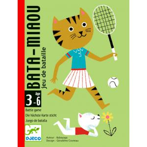 Djeco - DJ05139 - Jeu de cartes Bata - Miaou (408738)