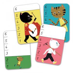 Djeco - DJ05139 - Jeux de cartes -  Bata - Miaou (408738)