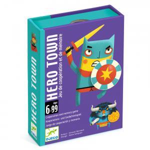 Djeco - DJ05143 - Jeu de cartes Hero Town (408742)