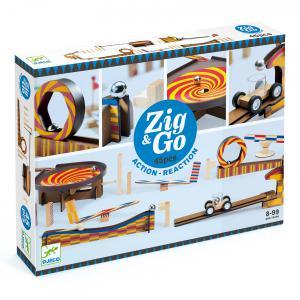 Djeco - DJ05643 - Zig & Go -  Zig & Go - 5643 - 45 pièces (408754)