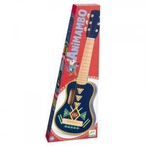 Djeco - DJ06024 - Animambo -  Guitare 6 cordes métalliques (408760)
