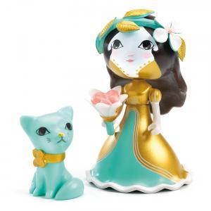 Djeco - DJ06783 - Arty Toys - Princesses -  Eva & Zecat (408822)