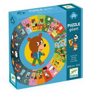 Djeco - DJ07015 - Puzzles géants -  La journée (408828)