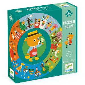 Djeco - DJ07016 - Puzzles géants -  L'année (408830)