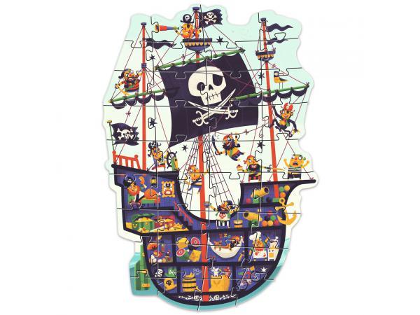 Puzzles géants - le bateau des pirates