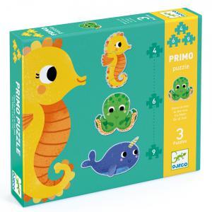 Djeco - DJ07144 - Puzzles évolutifs -  Puzzles Primo - Dans la mer (408836)