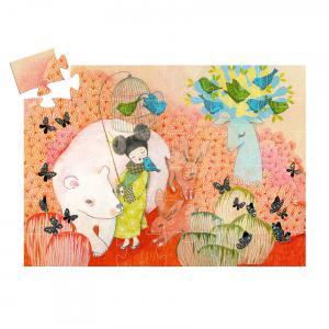 Djeco - DJ07236 - Puzzle silhouettes Kokeishi - 36 pièces (408838)