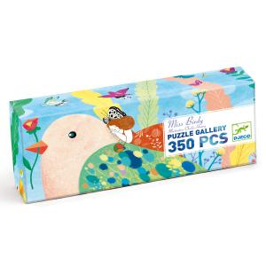 Djeco - DJ07616 - Puzzle Gallery Miss Birdy - 350 pièces (408850)