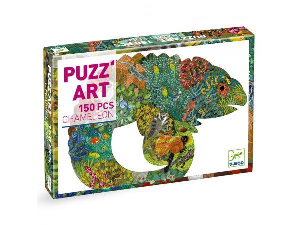 Puzz'art chameleon - 150 pièces