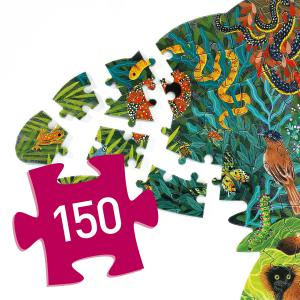 Djeco - DJ07655 - Puzz'Art -  Chameleon - 150 pièces (408854)