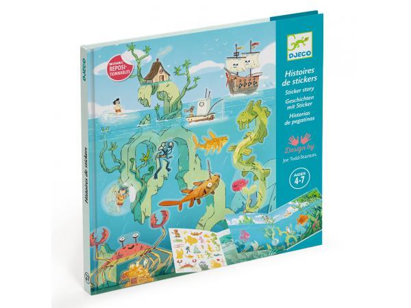Stickers - les aventures en mer