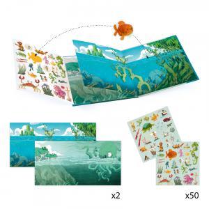 Djeco - DJ08953 - Stickers - Les aventures en mer (408930)