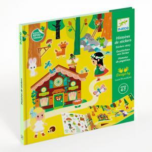 Djeco - DJ08956 - Stickers - La forêt magique (408934)