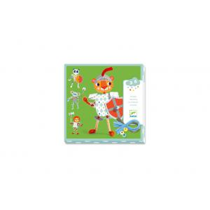 Djeco - DJ08977 - Les petits - Enfilage - Mes chevaliers à moi (408938)