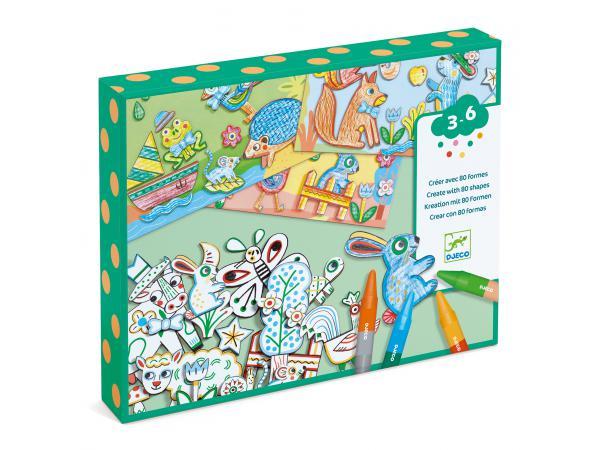 Coloriages - un monde à créer, animaux