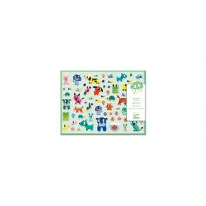 Djeco - DJ09079 - Stickers pour les petits  - Mes petits amis (408968)