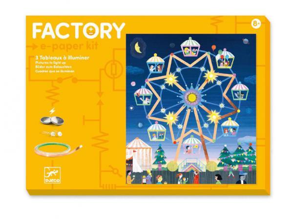 Factory - e-paper kit - là-haut