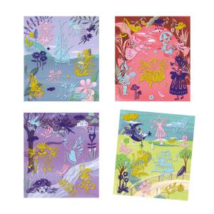 Djeco - DJ09464 - Collages - Artistic Patch - Fairyland (409036)
