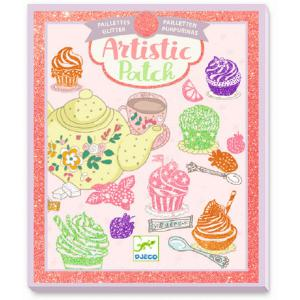 Djeco - DJ09470 - Collages - Artistic Patch - Gourmandises (409048)