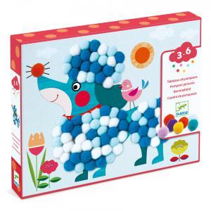 Djeco - DJ09867 - Les petits - Collages - Des chiens à caresser (409098)