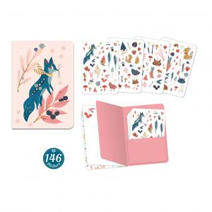 Djeco - DD03575 - Carnets stickers  - Lucille (409106)