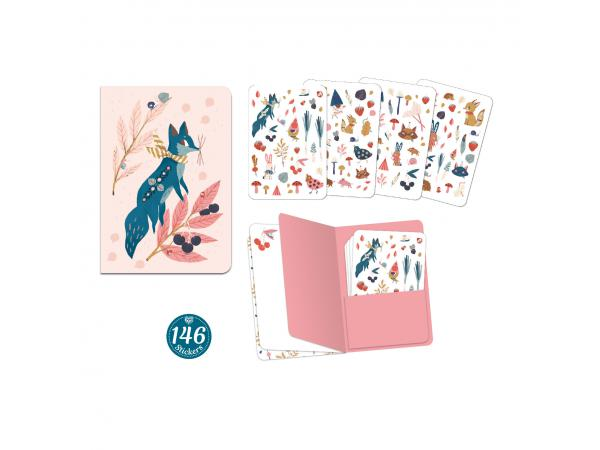 Carnets stickers - lucille