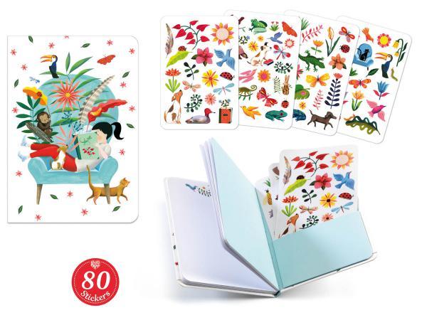 Carnets stickers - sarah