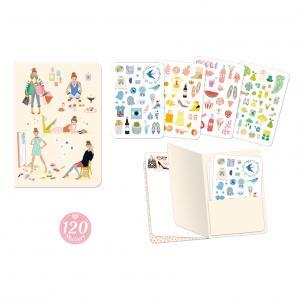 Djeco - DD03578 - Carnets stickers  - Tinou (409112)