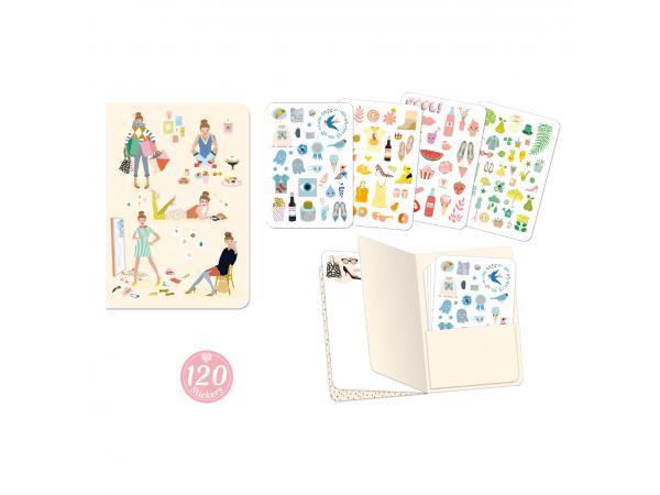 Carnets stickers - tinou