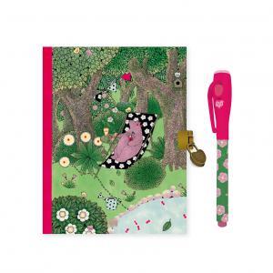 Djeco - DD03613 - Carnets secrets - Fanny - Feutre magique (409130)
